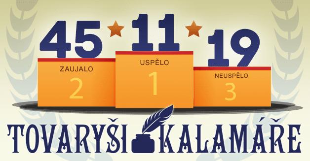 Tovaryši kalamáře 2017: výsledky